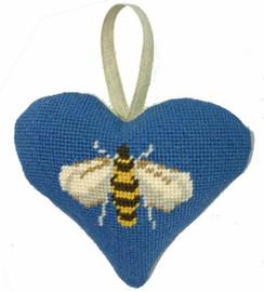 Bee Heart Tapestry Cushion Kit By Cleopatra