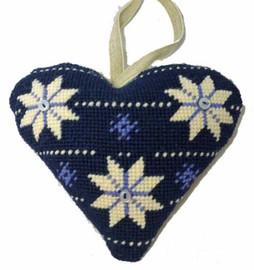 Scandinavian Heart Tapestry Cushion Kit By Cleopatra