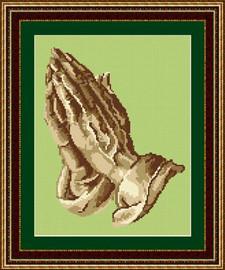 Praying Hands Tapestry Kit