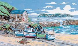 Mullion Cove, Cornwall Tapestry Kit