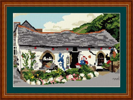Boscastle Gift Shop (Before the flood)