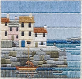 Fishermans Cottages Longstitch Kit