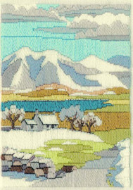 Mountain Winter Long Stitch Kit