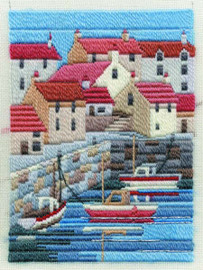 Coastal Summer Long Stitch Kit
