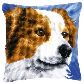Border Collie Tapestry Cushion Kit By Vervaco