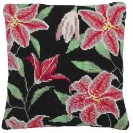 Stargazer Lily Tapestry Cushion Kit