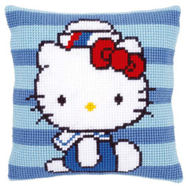 Hello Kitty Marine Tapestry Kit by Vervaco