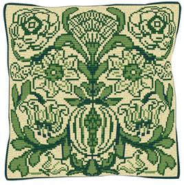 Victorian Tile Tapestry Cushion Kit