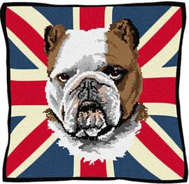 Winston The Dog Tapestry Cushion Kit