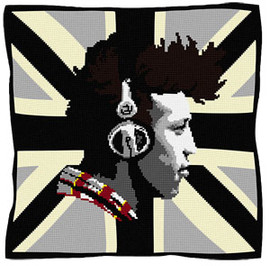 Alex BW Tapestry Cushion kit