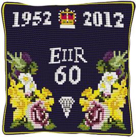 Diamond Jubilee Cushion Cross Stitch Kit