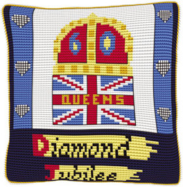 Offical Diamond Jubilee Cross Stitch Kit