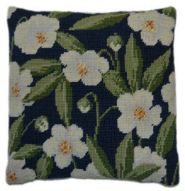 Christmas Rose Tapestry Cushion Kit