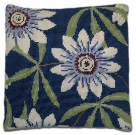Passion Flower Tapestry Cushion Kit