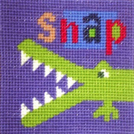 Croc Needle Point By Stitching Shed