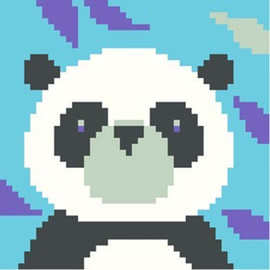 Panda Needle Point By Stitching Shed