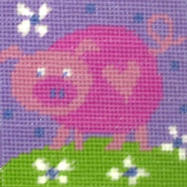 Pig Childrens Needlepoint Kit