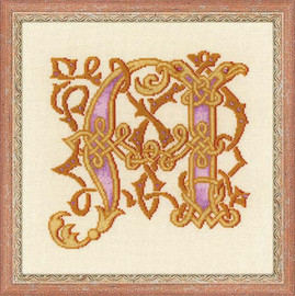 Letter A Cross Stitch By Riolis