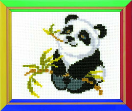 Panda Cross Stitch Kit By Riolis