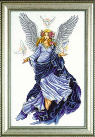 Celestial Angel Cross Stitch Kit By Design Works