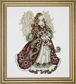 Angel Of Joy Cross Stitch Kit By Design Works