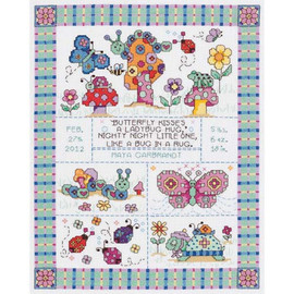 Bug In A Rug Cross Stitch Kit By Janlynn