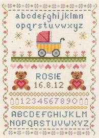 Birth Classic Sampler Cross Stitch Kit By Anchor