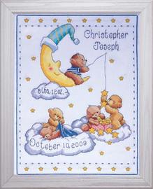 Heavenly Bears Sampler Cross Stitch Kit By Design Works