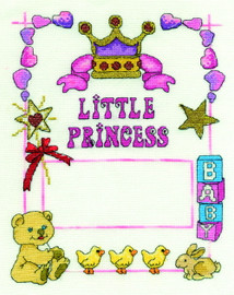 Our Little Princess Cross Stitch Kit