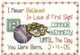 Love At First Sight Cross Stitch Kit