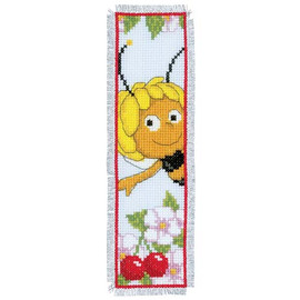 Maya Bookmark Cross Stitch Kit By Vervaco