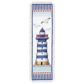 Light House Bookmark Vervaco Cross Stitch Kit