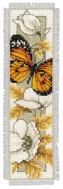 Multi Coloured Butterfly Bookmark Cross Stitch Kit