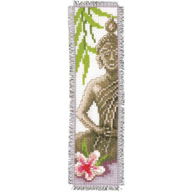 Budha Bookmark Cross Stitch Kit