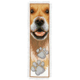 Dog Paws Bookmark Cross Stitch Kit