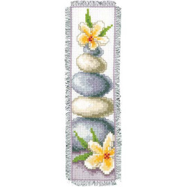 Lily And Stone Bookmark Cross Stitch Kit