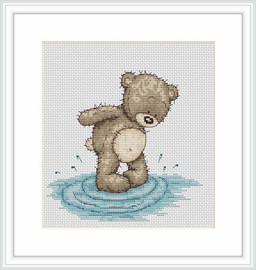 Bruno Makes A Splash Cross Stitch Kit By Luca S