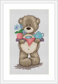 Morning Tea For Bianca Cross Stitch Kit By Luca S