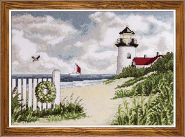 Peaceful Shores Cross Stitch Kit By Design Works