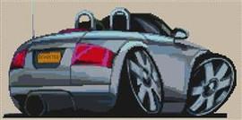 Audi Tt  Koolart Cross Stitch Kit