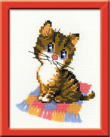 Kitten Starter Cross Stitch Kit By Riolis