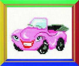 Cabriolet Cross Stitch Kit By Riolis