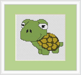 Frog Mini Cross Stitch Kit By Luca S