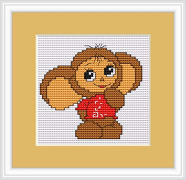 Mouse Mini Cross Stitch Kit By Luca S