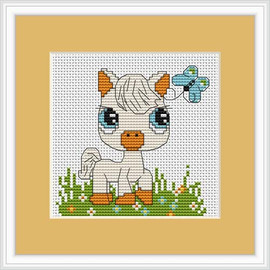 Pony Mini Cross Stitch Kit By Luca S