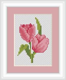 Tulips Mini Cross Stitch Kit By Luca S