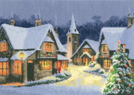 Christmas Village By Heritage Crafts