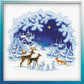 Christmas Cross Stitch Kit By Riolis