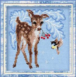 Fawn Cross Stitch Kit