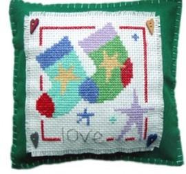 Stocking Cushion Cross Stitch Kit